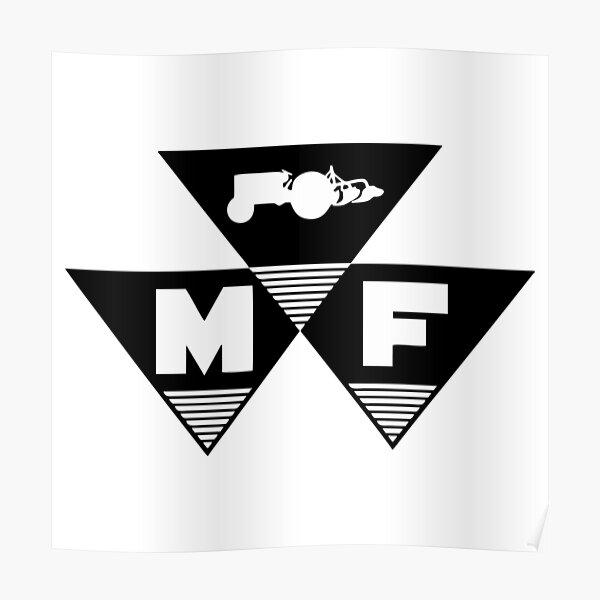 MEILLEUR VENDEUR - Massey Ferguson Logo Ancienne Marchandise Poster