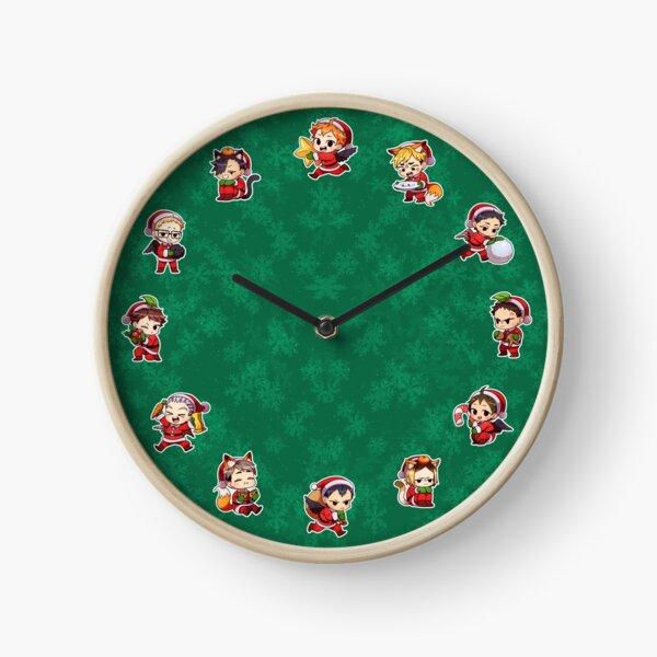 Haikyuu!! Christmas Clock