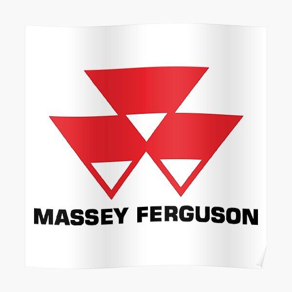 MEILLEUR VENDEUR - Massey Ferguson Logo Merchandise Poster