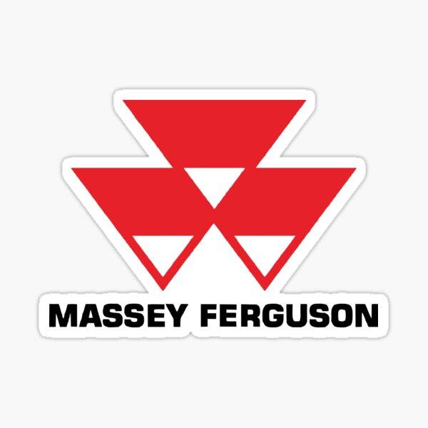 MÁS VENDIDO - Mercancía con el logotipo de Massey Ferguson Pegatina