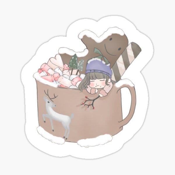 Christmas mug Sticker
