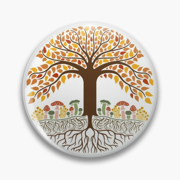 Tree (Autumn/Fall) Pin