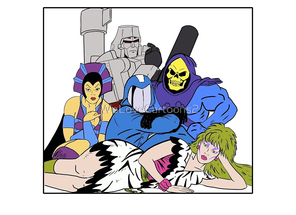 The Villains Club by WeLoveCartoons2