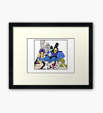 The Villains Club Framed Print