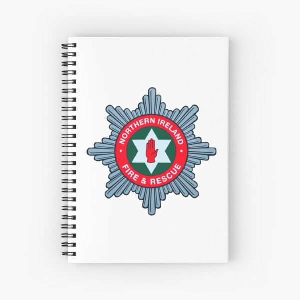 Northern Ireland Fire Brigade Spiral Notebook
