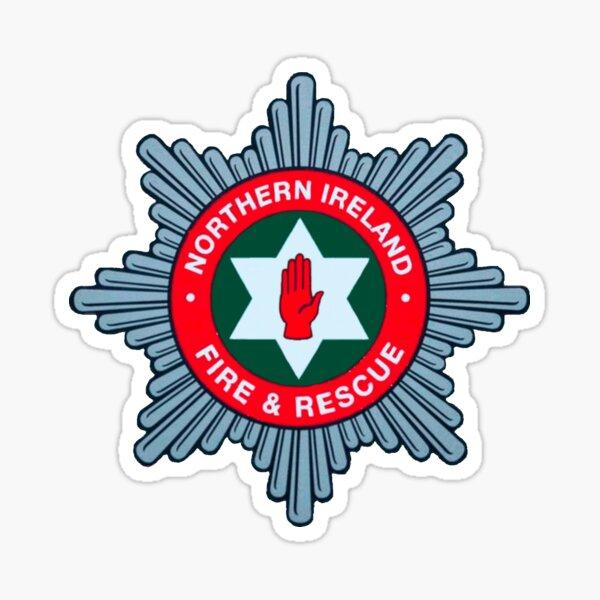 Northern Ireland Fire Brigade Sticker
