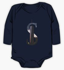 S for Skyscraper One Piece - Long Sleeve