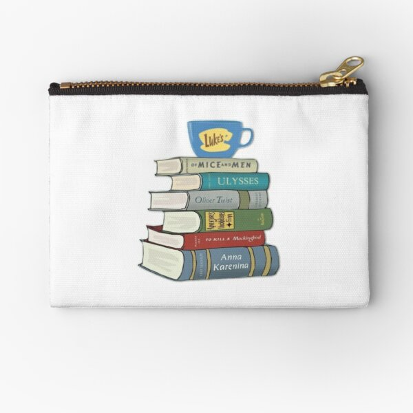 gilmore girls Rory's Books Zipper Pouch