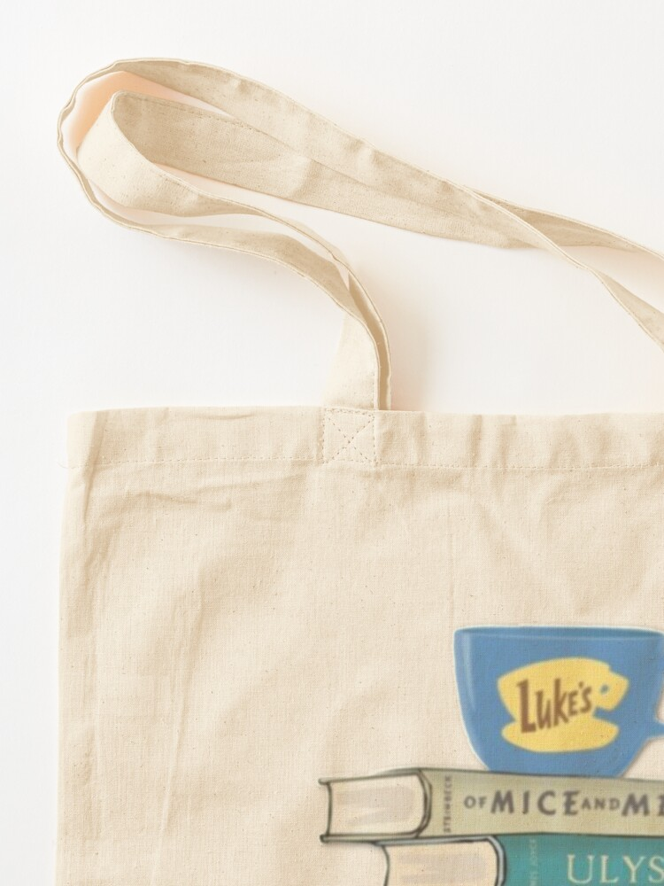 Alternate view of gilmore girls Rory's Books Tote Bag