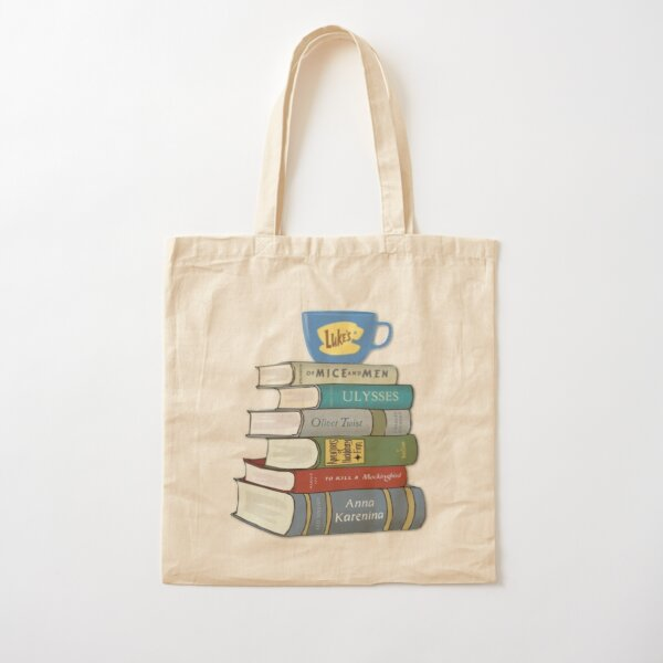 gilmore girls Rory's Books Cotton Tote Bag