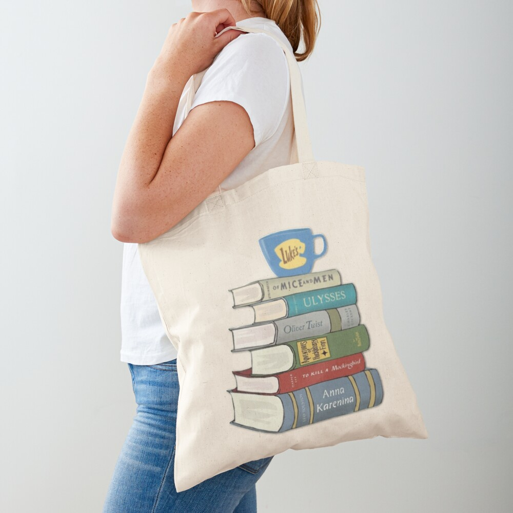 gilmore girls Rory's Books Tote Bag