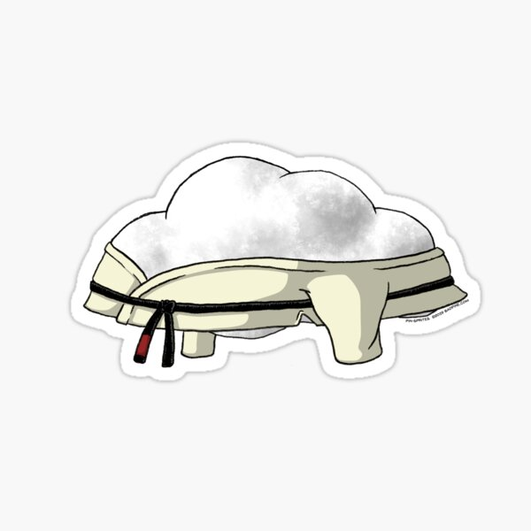 Pin-Sprites - Cloud in a Gi - Color/No-Face Sticker