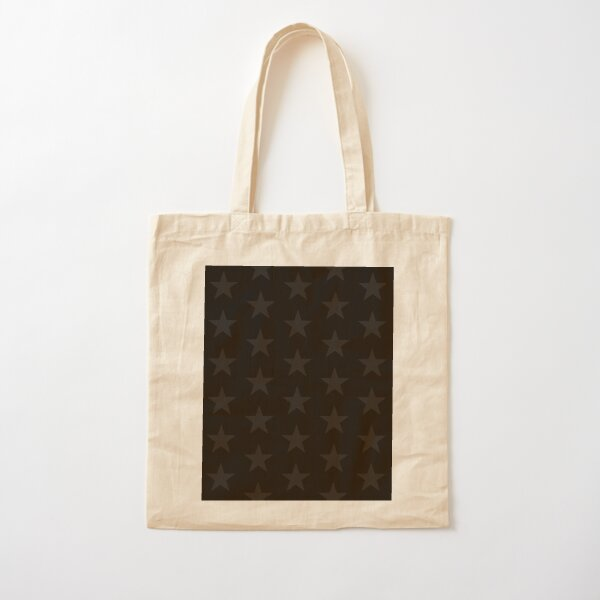 Cherry and stars Cotton Tote Bag