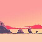 Sunset Rock by dmc-art