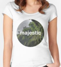 Unofficial Majestic Casual design 2 Women's Fitted Scoop T-Shirt