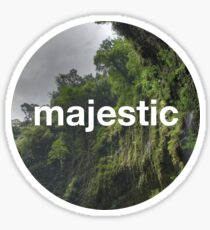 Unofficial Majestic Casual design 2 Sticker