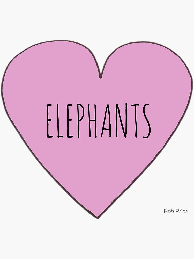 Elephant Love by wanungara