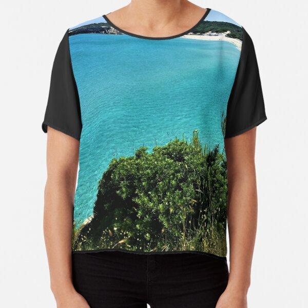 Puglia- Italy- Beautiful Sea Chiffon Top