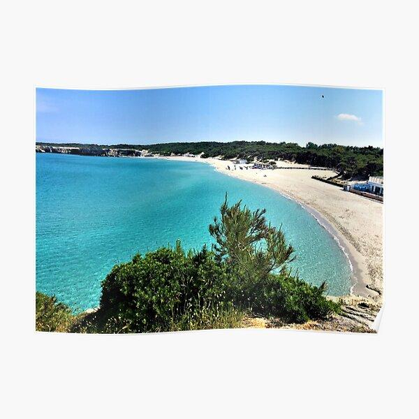 Puglia- Italy- Beautiful Sea Poster