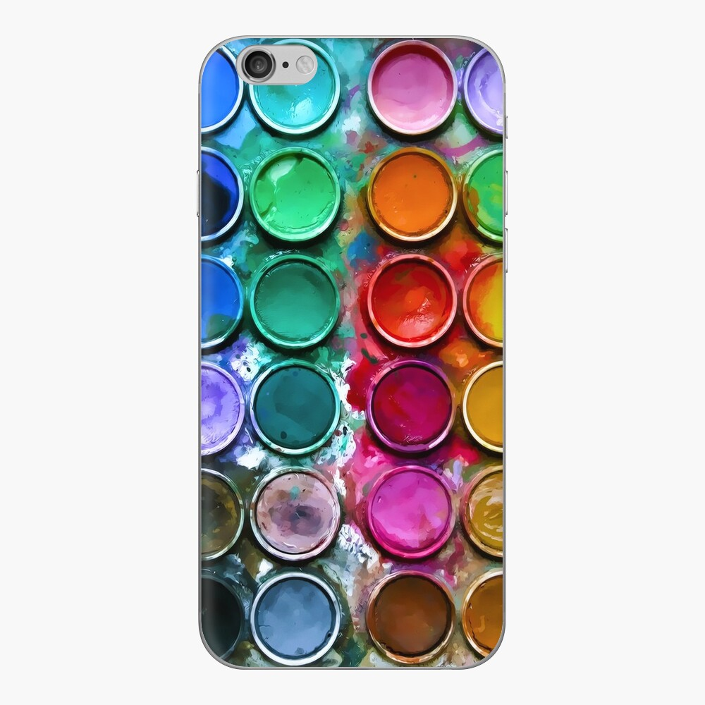 The iPaintBox iPhone Skin