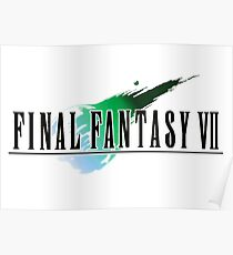 FF7 Logo Highest Quality Poster