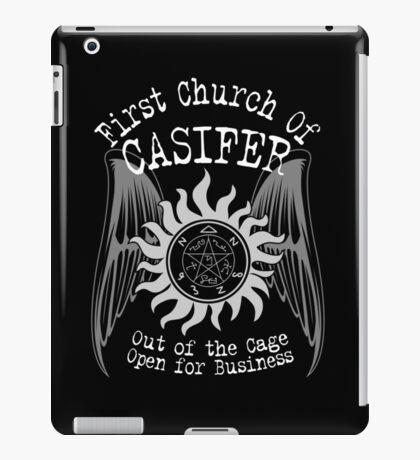 First Church of Casifer iPad Case/Skin
