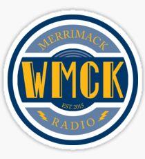 WMCK Radio Logo Sticker