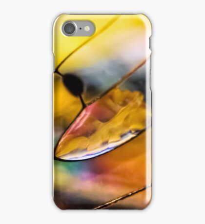 Plain Stain in a Natural Pane iPhone Case/Skin
