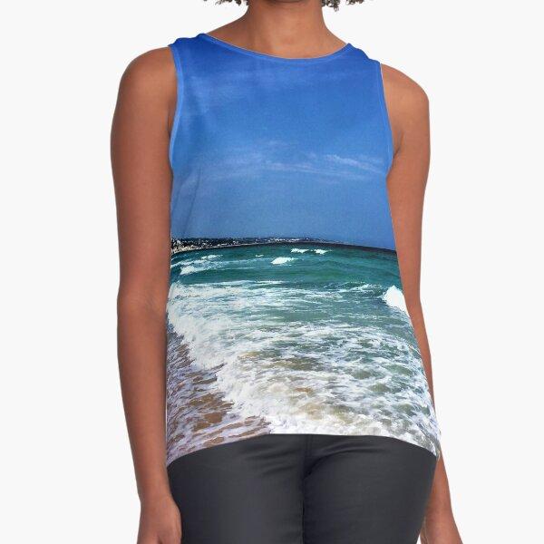 Puglia- Italy- Sea Sleeveless Top