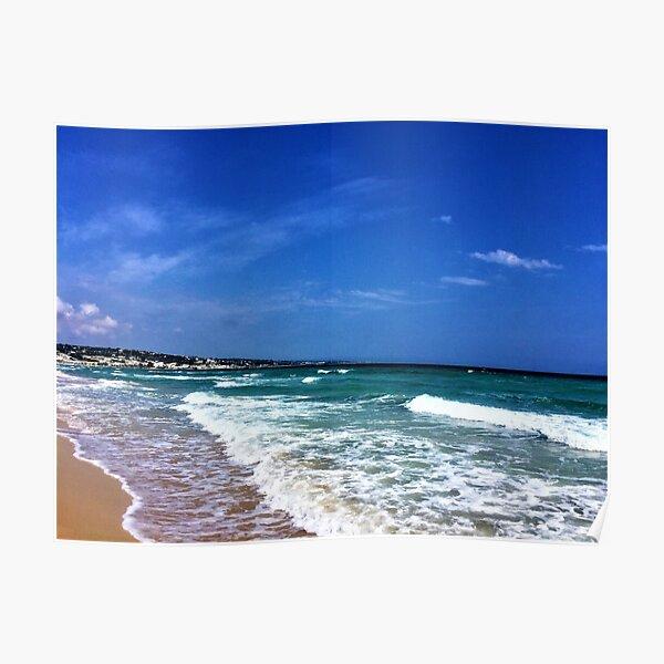 Puglia- Italy- Sea Poster