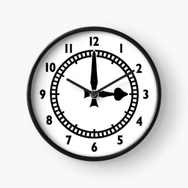 Highbury Clock End (B&W) Clock