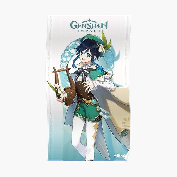 Genshin Impact Venti Poster
