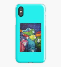 Cosmic sheep collection iPhone Case/Skin