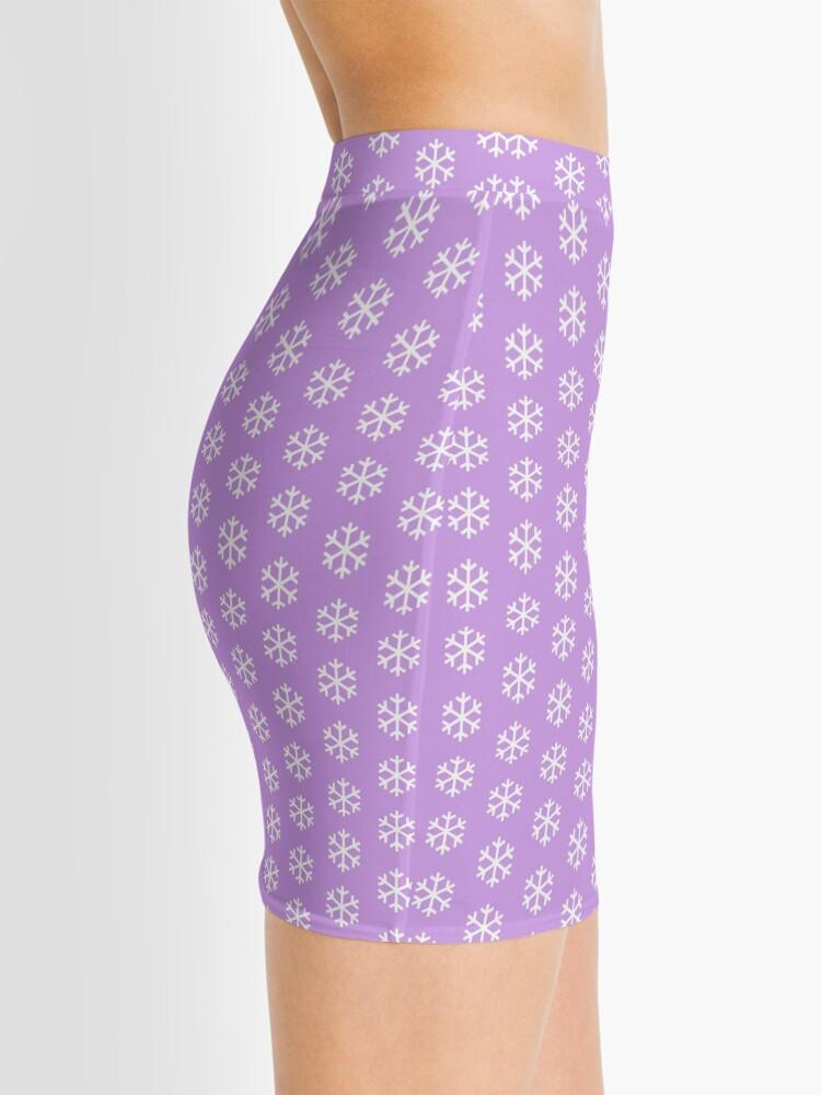Alternate view of Christmas Snowflake Mini Skirt