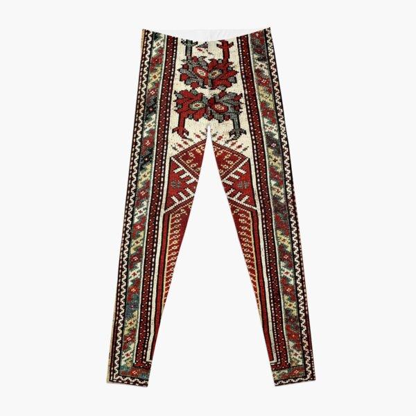 Milas West Anatolian Niche Rug Print   Leggings