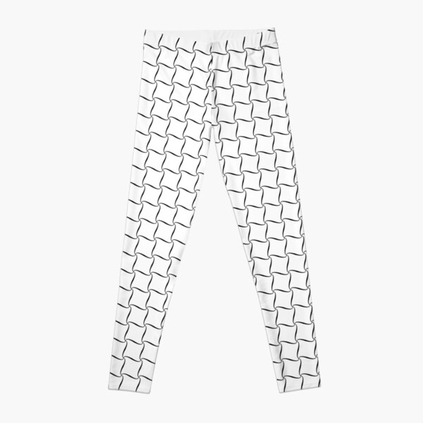 Tennis Net seamless pattern vector illustration Leggings