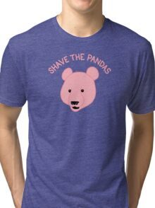 Shave the Pandas Tri-blend T-Shirt