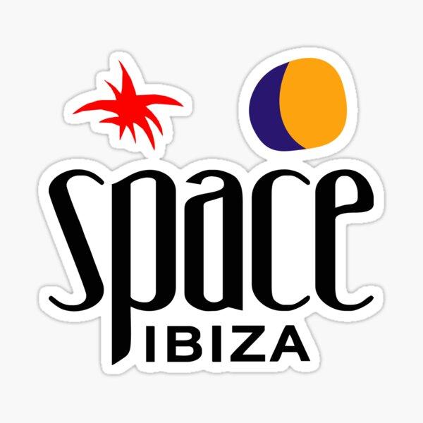 Los más vendidos - Space Ibiza Pegatina