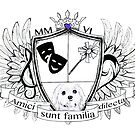Glitter Family Crest by anniemgo