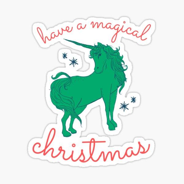 A Magical Christmas (Nice List Version) Sticker