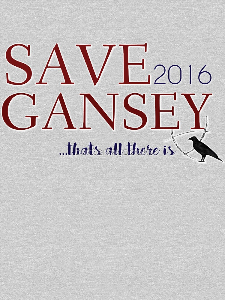 SAVE GANSEY 2016 by buttermybooks