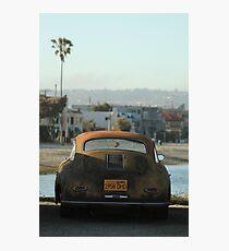 Mission Beach Car Photographic Print
