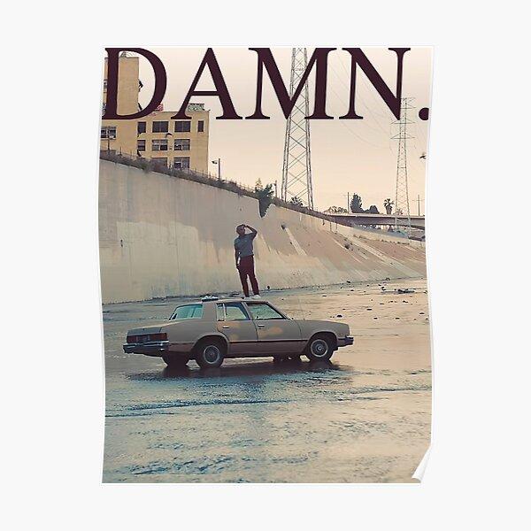DAMN. - Kendrick Lamar Poster 10 Poster