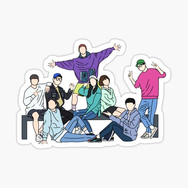 Running Man (Korean Variety Show) Sticker