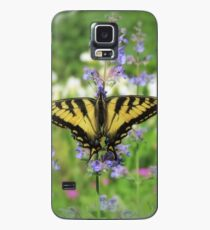 Swallowtail Floral - Butterfly Case/Skin for Samsung Galaxy