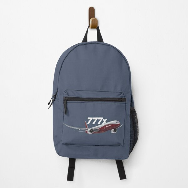 Boeing 777x Aircraft Image Backpack