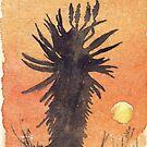 Aloe Sonnenuntergang von Maree Clarkson