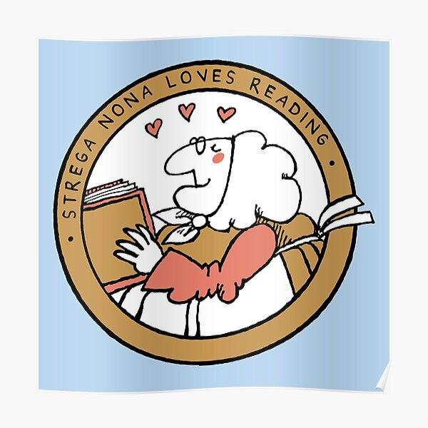 Strega Nona Love Poster