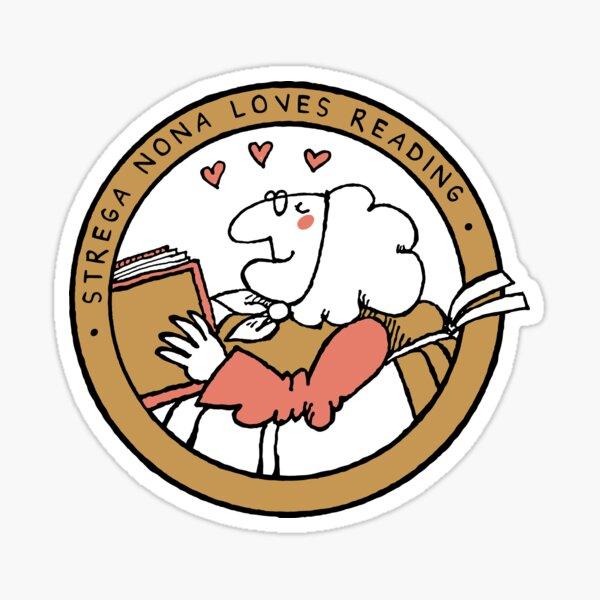 Strega Nona Love Sticker