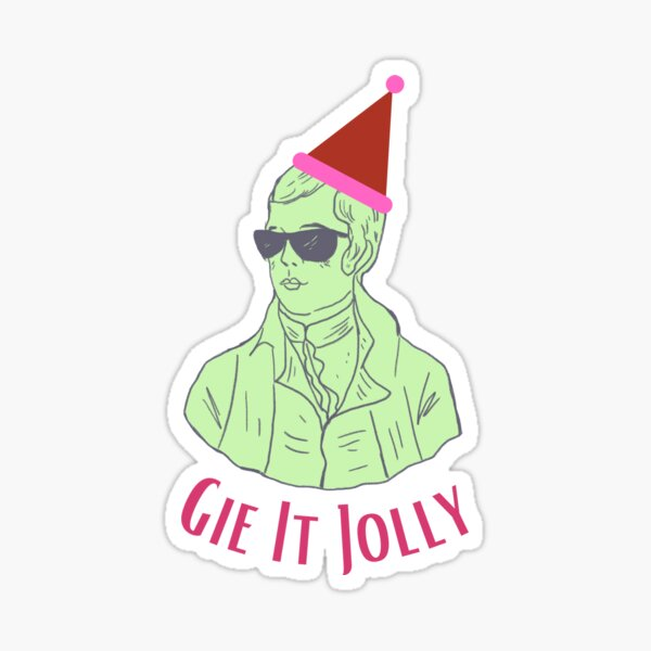 Gie It Jolly Sticker